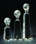 Globe Gated Tower Crystal Globe Awards