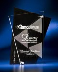 Abstract Clear and Black Acrylic Award Modern Design Awards