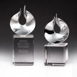 Solid Flame Crystal Award Religious Awards