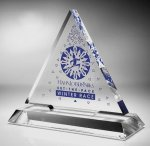 Triangle Acrylic Award Traditional Acrylic Awards