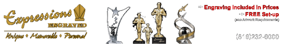 - crystal golf awards, baseball awards, soccer trophies